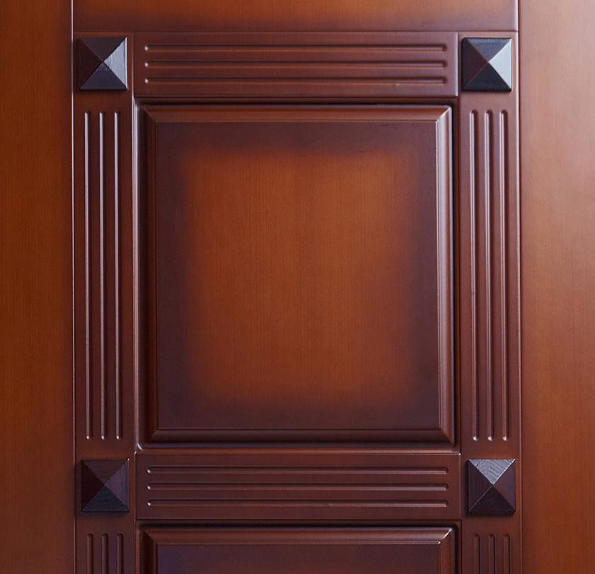 установка мдф панелей +на дверь